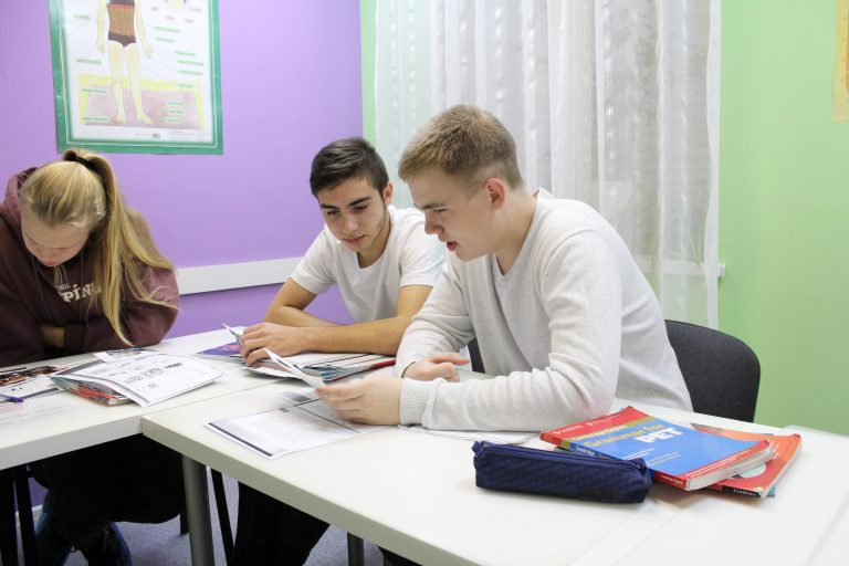 Английский язык для школьников 12-17 лет